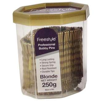 Freestyle Professional Bobby Pins Blonde 250 g