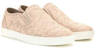 Dolce & Gabbana Lace slip-on sneakers
