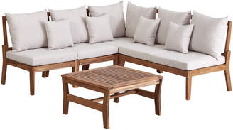 Webster Temple & Anquilla Outdoor Modular Lounge Set with Cushions