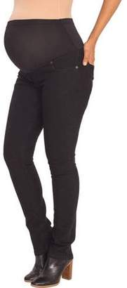 Great Expectations Maternity Full-Panel Skinny Jeans