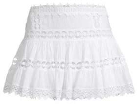 Charo Ruiz Ibiza Greta Crochet Lace Mini Skirt