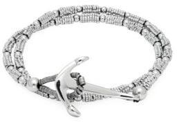 Jean Claude Ronde Stone Double Wrap Bracelet
