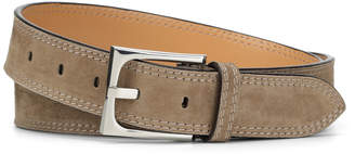 Donald J Pliner FRANCO3, Washed Suede Belt
