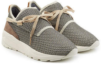 Casbia William Mesh Sneakers with Suede