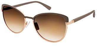 Jessica Simpson Women's J5316 Nd Non-Polarized Iridium Cateye Sunglasses