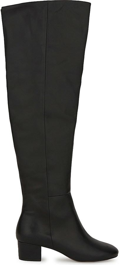 AldoALDO Broggi leather over the knee boots