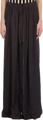 Ann Demeulemeester High Slit Skirt