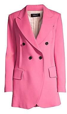 Derek Lam Women's Double Breasted Blazer Jacket