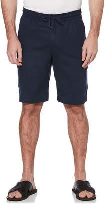 Cubavera Mens Mid Rise Cargo Shorts
