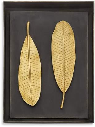 Michael Aram Champa Leaf Shadow Box