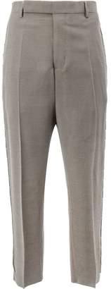 Rick Owens beaded trim trousers
