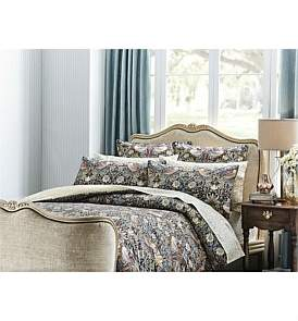 Sanderson Strawberry Thief King Bed Quilt Cover