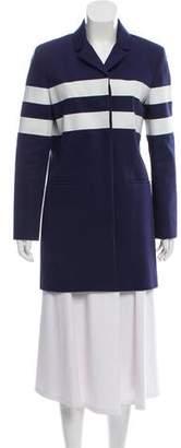 Kenzo Striped Short Coat