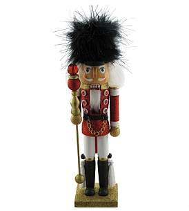 Christmas Shop Decor-35Cm Nutcracker Soldier Red