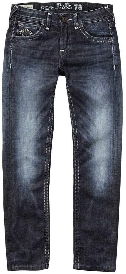 Pepe Jeans London Falkner - Jeans mit geradem Schnitt - ausgewaschenes blau