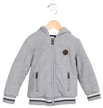 Armani JuniorArmani Junior Boys' Hooded Zip-Up Sweatshirt