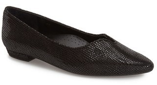 Women's Vaneli 'Ganet' Pointy Toe Flat $139.95 thestylecure.com