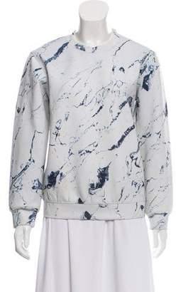 Alexander Wang Oversize Printed Sweatshirt