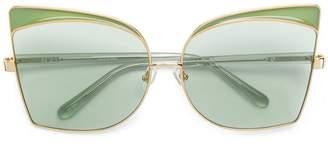 No.21 oversized sunglasses