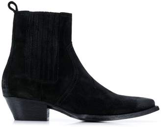 Saint Laurent slip-on cowboy boots