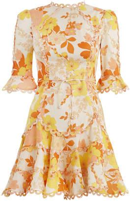 Zimmermann Primrose Flutter Dress
