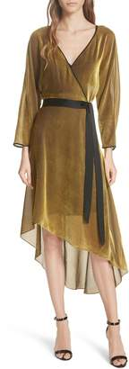 Diane von Furstenberg Eloise Asymmetrical Wrap Dress