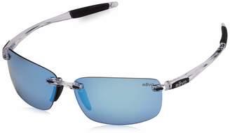 Revo Descend N RE 4059 02 BR Polarized Rectangular Sunglasses