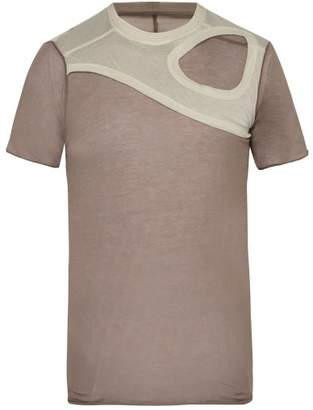 Rick Owens Membrane Cotton T Shirt - Mens - Multi