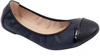 Greatonu Soft Leather Insole Closed Toe Bowed Ballet Women Flats Size 7
