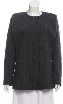 Isabel Marant Virgin Wool Herringbone Blazer