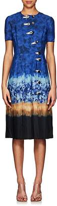 Altuzarra Women's Ilari Tie-Dyed Dress - Ceramic Blue