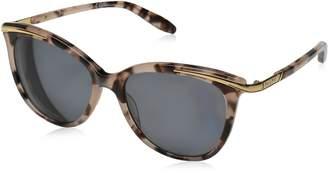 Lauren Ralph Lauren Lauren by Ralph Ladies Pink Tortoise Cat Eye Sunglasses With Gradient Lens