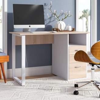 Ebern Designs Crownfield Writing Desk Ebern Designs
