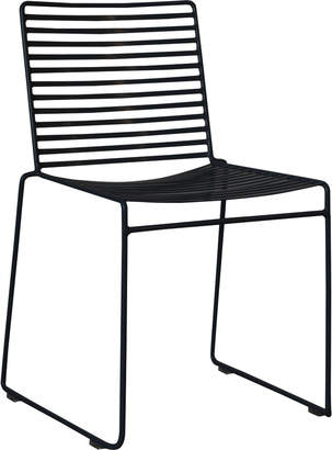 Oslo Home Black Club Wire Dining Chair