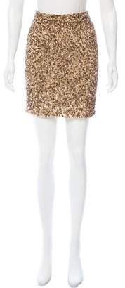 Vince Embellished Mini Skirt