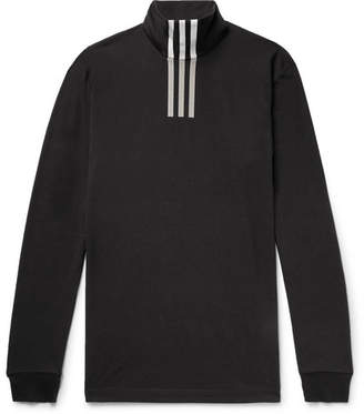 Y-3 Printed Cotton-Blend Jersey Rollneck T-Shirt