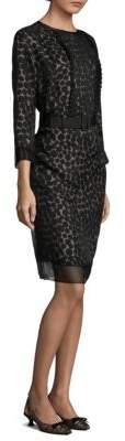 Marc Jacobs Silk Polka-Dot Dress