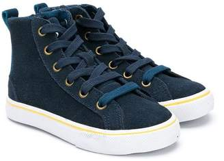 Boss Kids high-top sneakers