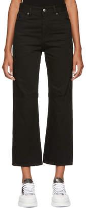 MM6 MAISON MARGIELA Black Garment-Dyed Jeans