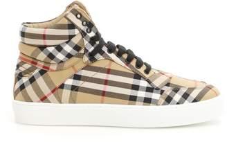 Burberry Reeth High Top Sneakers
