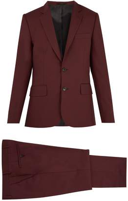 Paul Smith Single-breasted wool suit