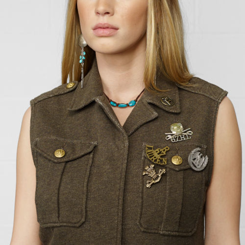 Denim & Supply Ralph Lauren Military Vest
