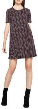 BCBGeneration Birchy Stripes A-Line Dress