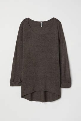 H&M Loose-knit Sweater - Gray