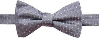 Ryan Seacrest Distinction Men Victor Dot Grid Pre-Tied Silk Bow Tie