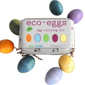 Eco-Kids® Eco-Eggs Coloring and Grass Growing Kit $9.99 thestylecure.com