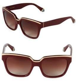Zac Posen 56MM Square Sunglasses