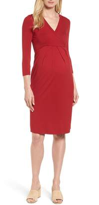 Isabella Oliver Gracia Surplice Maternity Dress