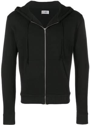 Saint Laurent zipped hoodie