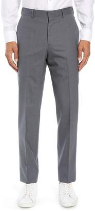Nordstrom Tech-Smart Trim Fit Stretch Wool Travel Trousers